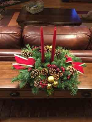 Janice Cramer verified customer review of Cascade Centerpiece