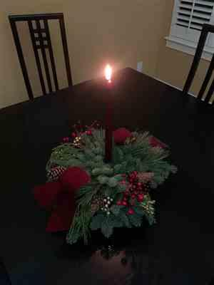 Jean Hagens verified customer review of Cranberry Centerpiece