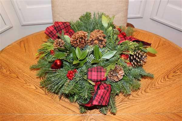 Renee French verified customer review of Tartan Centerpiece