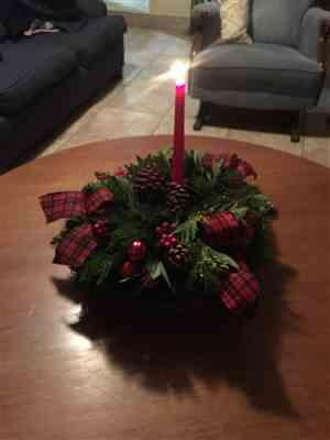 Deborah Silverman verified customer review of Tartan Centerpiece