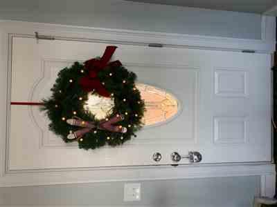 Deborah Edgar verified customer review of Crackle White Wreath Lights