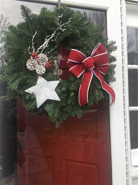 nancy fergus verified customer review of Shooting Star Wreath