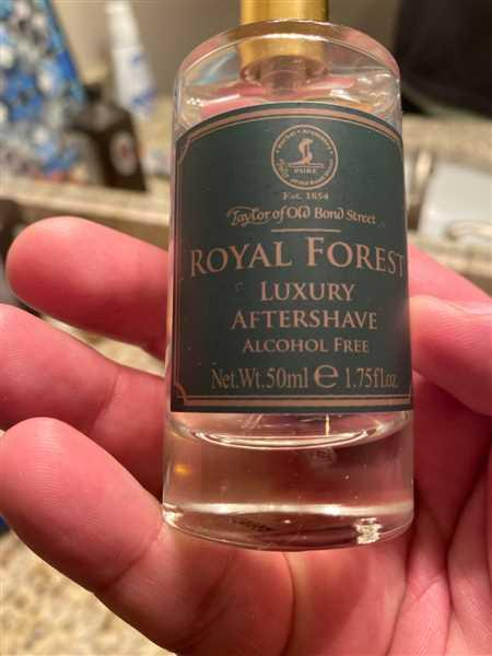West Coast Shaving Taylor of Old Bond Street Aftershave Lotion, Royal Forest Review