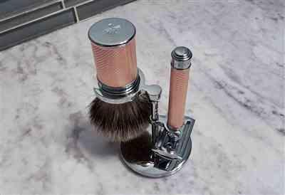 Shayne T. verified customer review of Muhle 091M89 Shaving Brush, Silvertip Badger, Rosegold