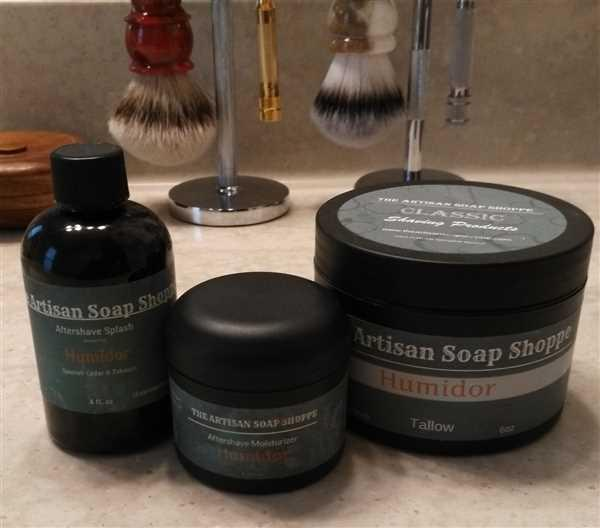 West Coast Shaving The Artisan Soap Shoppe After-Shave Splash, Humidor Review