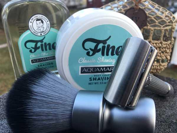 Augustin Jaime verified customer review of Fine Accoutrements Shaving Soap, Aquamarine