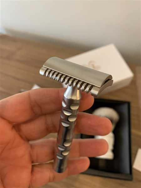 Ivan Riffo verified customer review of The Goodfellas' Smile Open Comb Safety Razor, Italico