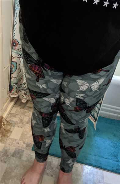 Ambrie Butterfly Print Leggings Review