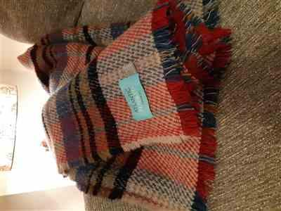 Jane Darragh verified customer review of Random Recycled Wool Blanket