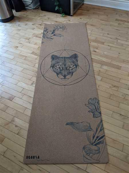 Scoria Canada *PRE-ORDER* Mountain Lion Cork Yoga Mat | 3.5MM OR 4.5MM Review