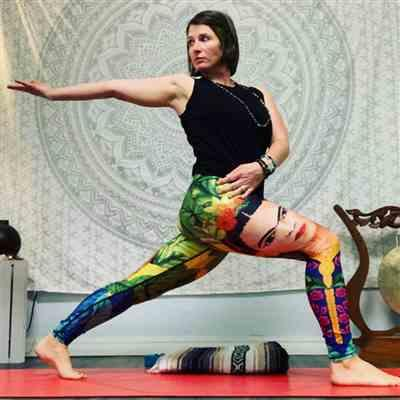 Crystal B. verified customer review of Frida Printed Yoga Leggings