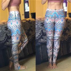 Andrea G. verified customer review of Mystic Elephant Printed Yoga Leggings - Final Sale
