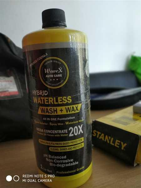 Nitesh V. verified customer review of Wavex Hybrid-X Spray Wax, Waterless Wash, Rinse Aid and Quick Detailer Dilutes 20 Times with Water