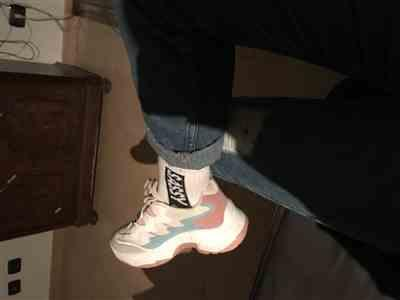 Anna C. verified customer review of COLOR BLOCK SNEAKERS
