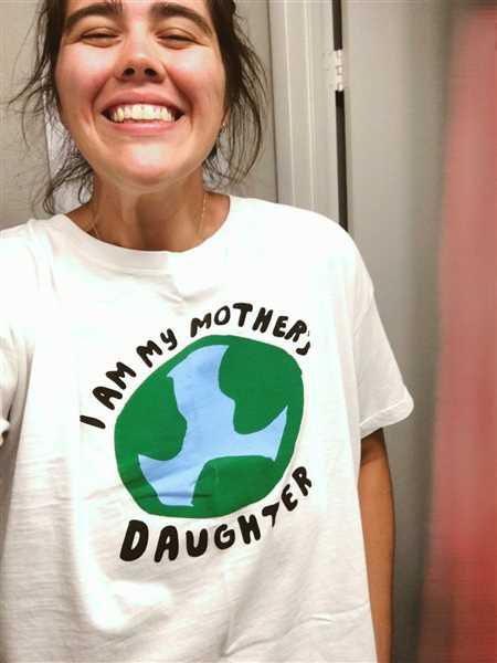 Chipper Things I Am My Mother's Daughter Recycled Cotton T-Shirt Review