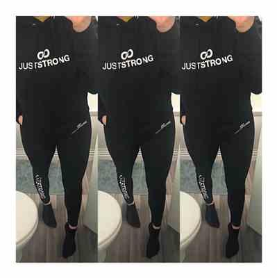 Kayleigh Mankowski verified customer review of Jet Black Just Strong Leggings