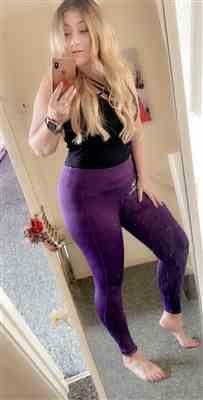 Just Strong Purple Performance Leggings Review