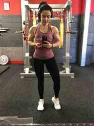 Ramona C. verified customer review of Sapphire Seamless Sculpt Tank