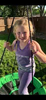 Just Strong Kids Seamless Purple Ombre Tank Review