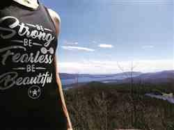 Caitlin S. verified customer review of BE STRONG, BE FEARLESS, BE BEAUTIFUL TANK