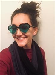 Catherine R. verified customer review of Green Lens / Heart Eyes Frame