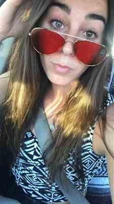 Kailey J. verified customer review of AVIATOR - RED