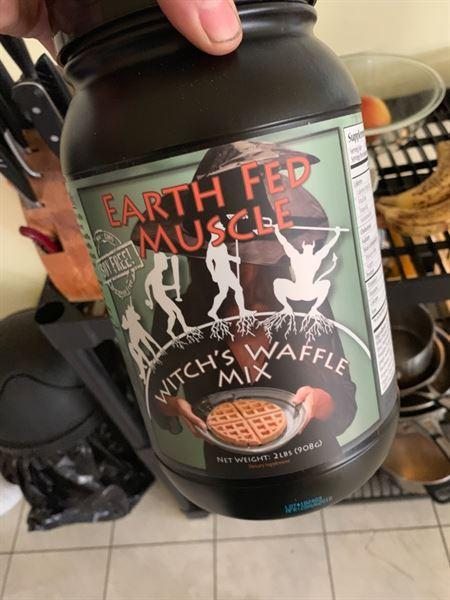 Scott J. verified customer review of Witch's Waffle and Pancake Mix