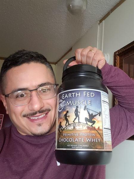 Noe Salazar verified customer review of Primitive Protein Chocolate Whey