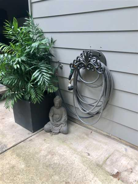 Bridget Sullivan verified customer review of Decorative Hose Hanger