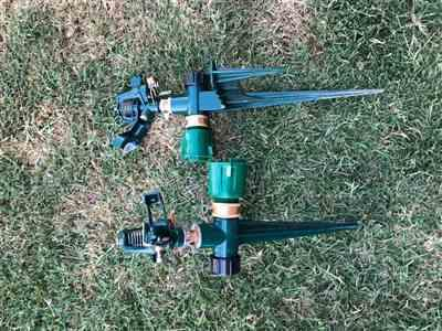 Manoah Baker verified customer review of Impulse Sprinkler Spike