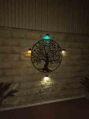 Patricia R. verified customer review of Colour Change Solar Wall Light 5LED - 2 Pack