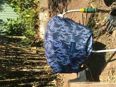 P Jones verified customer review of Hose Reel Cover - Birds of Paradise