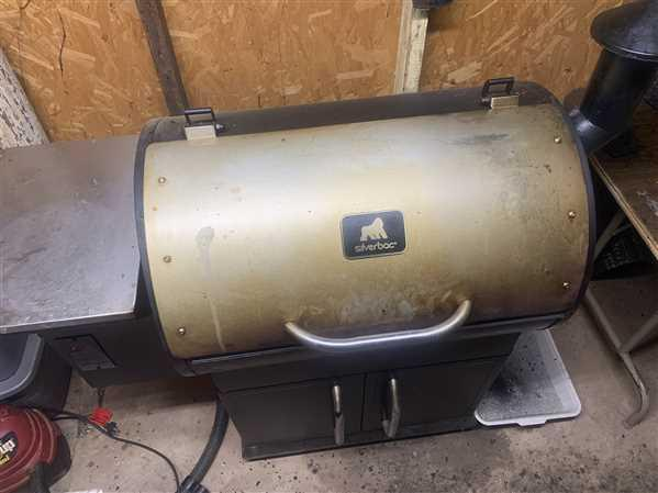 Terry H verified customer review of Silverbac Pro Wood Pellet Grill