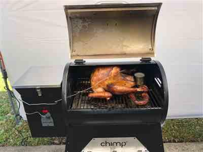 OBED OYOLA-RIVERA verified customer review of Grill Cover for Chimp Tailgater Wood Pellet Grill