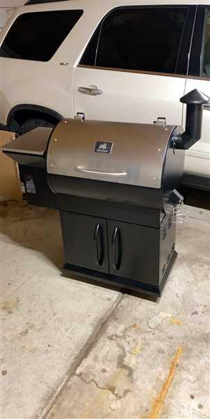 Cody Lenters verified customer review of Silverbac Original Wood Pellet Grill
