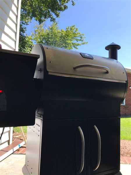 Ivan Napotnik verified customer review of Silverbac Alpha Wood Pellet Grill