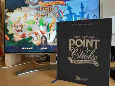 Nikolas Lefas verified customer review of The Art of Point-and-Click Adventure Games