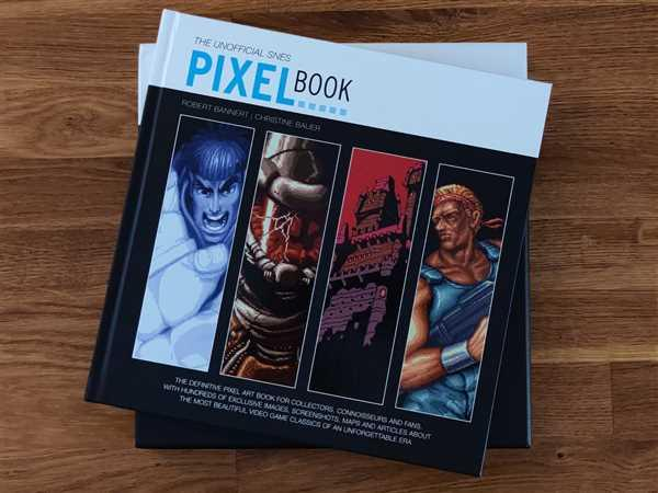 Bitmap Books The SNES Pixel Book Review