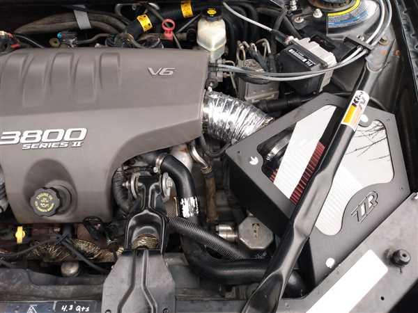 Shaun Simpson verified customer review of ZZP 3800 Cold Air Intake