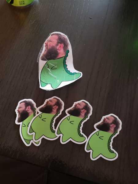 Joseph Durre verified customer review of Al T-Rex Sticker