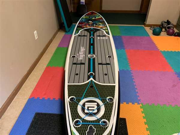 BOTE HD Paddle Board - 10'6 / Full Trax Crimson Review
