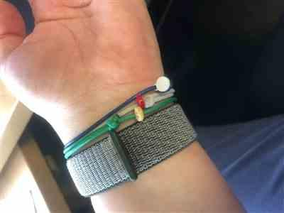 Nikolas K. verified customer review of Camo Green Slim Bracelet Slider