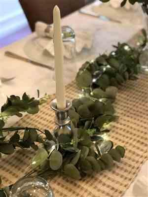 Anonymous verified customer review of Faux Eucalyptus Garland - 6'