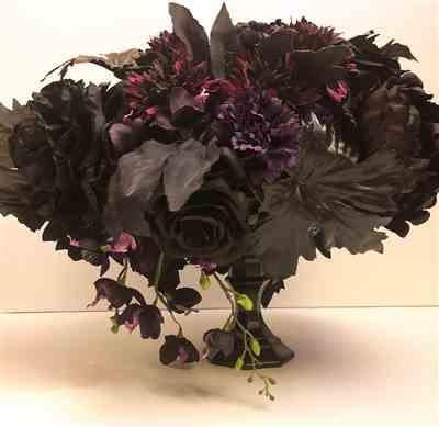 Melissa Nandy verified customer review of Silk Flower Peony in Eggplant - 18.5 Tall