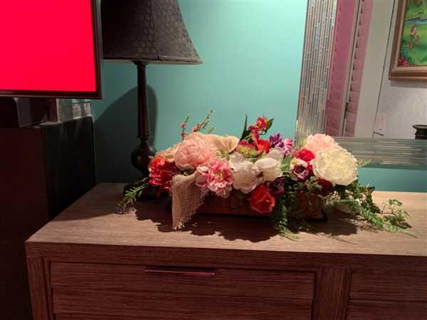 Nancy R. Lewis verified customer review of Pink Coral Poppy Silk Flowers