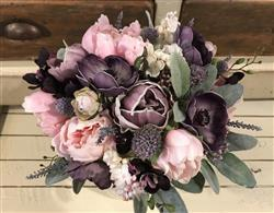 véronique verified customer review of Real Touch Mini Peony Bundle in Lavender - 14 Tall
