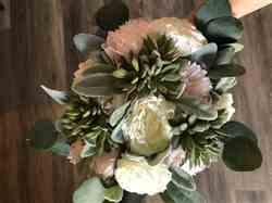 Anonymous verified customer review of Artificial Succulent Bouquet Pick in Green Gray - 4 Wide