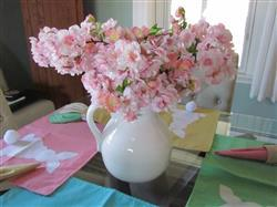 CONNIE D. verified customer review of Artificial Pink Cherry Blossom Branch