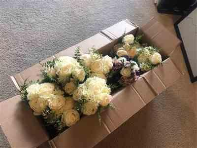 Afloral.com Artificial White Bouquet of Peonies Review