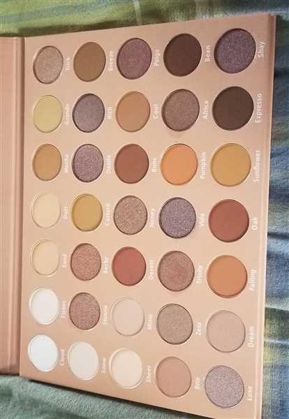 Tiffanie Harkins verified customer review of Stay Neutral Eye Shadow Palette - 35 Colors
